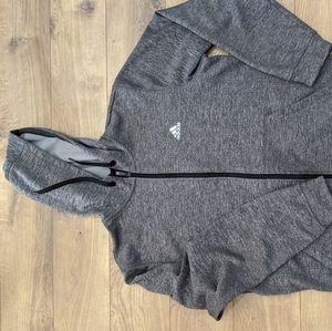 Adidas performance climawarm hoodie Large mens